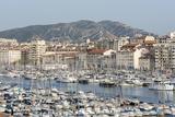 The Old Port of Marseille (Vieux Port) in Marseille  Mediterranean