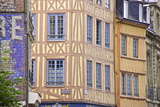 Half Timbered Norman Facades  Rouen  Normandy  France  Europe