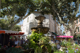 Traditional Open Air Market in the Historic Town of Cassis  Cote D'Azur  Provence  France  Europe