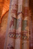 Paintings on Nave and Columns  Haute Loire