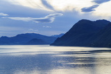 Dawn on Storfjord (Storfjorden)  Norway  Scandinavia  Europe