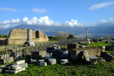 Venus Temple  Pompeii  the Ancient Roman Town Near Naples  Campania  Italy