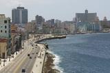 The Malecon  Havana  Cuba  West Indies  Caribbean  Central America