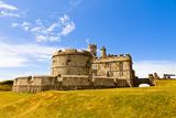 Pendents Castle  Falmouth  Cornwall  England  United Kingdom  Europe