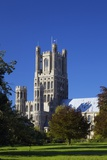 Ely Cathedral in Late Afternoon Sunshine  England