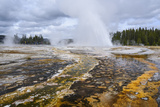 Daisy Geyser  Upper Geyser Basin  Yellowstone National Park  Wyoming  United States of America
