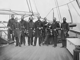 Admiral John A Dahlgren and His Officers During the American Civil War