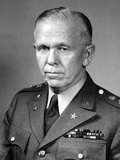 World War Ii Portrait of General George Marshall