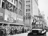 General George Patton During a Ticker Tape Parade