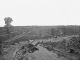 Battlefield of Resaca  Georgia  During the American Civil War
