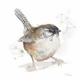 Watercolor Mountain Bird I