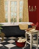 Red French Bath I
