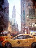 Rainy Madison Avenue