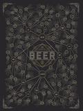 The Diagram of Beer Reproduction d'art par Pop Chart Lab