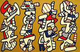 La Botte A Nique Reproductions de collection premium par Jean Dubuffet