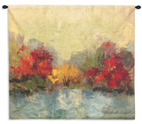 Fall Riverside I Wall Tapestry - Small