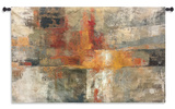 Silver and Amber Crop Wall Tapestry - Small