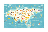The Most Detailed Animals World Map Eurasia also Birds Ocean Life Reptiles and Mammals