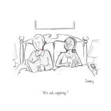 """It's  uh  cupping"" - Cartoon"