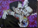 Undying Love Tableau sur toile par Mike Bell