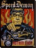 Speed Demon Tableau sur toile par Mike Bell