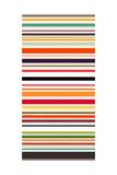 Contrast Stripe Reproduction d'art par Sharon Turner