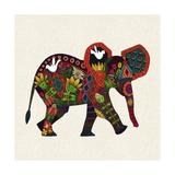 Little Elephant Giclée premium par Sharon Turner