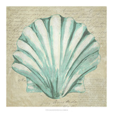 Seafoam Shell II Reproduction d'art par Chariklia Zarris