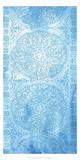 Cobalt Deco Panel I