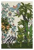 Paradis Chinoiserie II Giclée par Naomi McCavitt