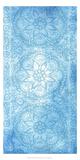 Cobalt Deco Panel II Reproduction d'art par Chariklia Zarris