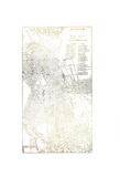 Gold Foil City Map Boston