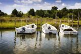 Three Small Boats I