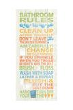 Bathroom Rules II