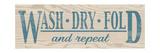 Wash Dry Fold - Blue