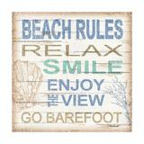 Beach Rules Sq