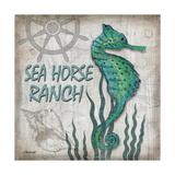 Sea Horse Ranch Reproduction d'art par Todd Williams