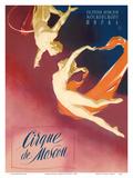 Cirque Moscou (Moscow Circus) - Russian Aerial Trapeze Acrobats
