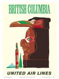 British Columbia - Northwest Indian Totem Pole