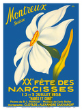 Montreux  Suisse (Montreux  Switzerland) - 1938 XX Fête des Narcisses (20th Narcissus Festival)