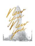Gilded New York Reproduction d'art par Moira Hershey