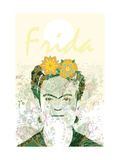 Frida Reproduction d'art par Teofilo Olivieri