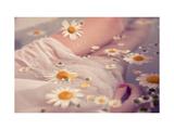 Floral Bath Reproduction d'art par Luc Coiffait