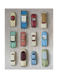 Toy Cars Reproduction d'art par Symposium Design