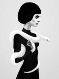 Only Skin Reproduction d'art par Ruben Ireland