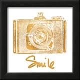 Gold Camera (gold foil)