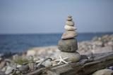 Stone Tower  Sea  Beach  Starfish