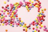 Chocolate Beans  Heart Shape