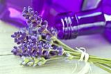 Lavender  Blossoms  Smell  Bottle  Close-Up
