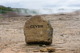 Geyser  Dead Gusher  Eponym for All Geysers in the World